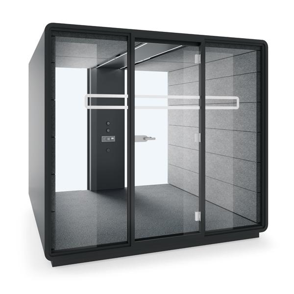 Vergadercabine modulair 4-10 persoons MEET L modules